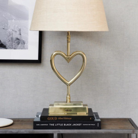 With Love Table Lamp soft gold Riviera Maison 428170