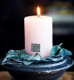 Rustic Candle blossom 7x10 Riviera Maison 399620