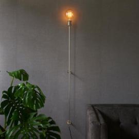 Hoxton Wall Lamp shiny silver Riviera Maison 379740