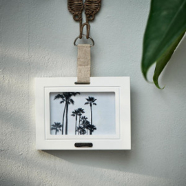 Lovely Linen Photo Frame 15x10 Riviera Maison 449330