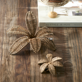Rustic Rattan Decoration Flower M Riviera Maison 472220