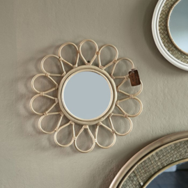 Flower Decoration Mirror Riviera Maison 477060