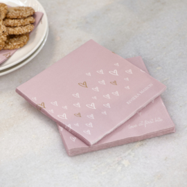 Paper Napkin Lovely Hearts Riviera Maison 494660