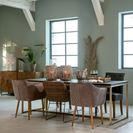 Costa Mesa Dining Table, 220x90 cm Riviera Maison 424270