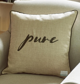 Pure Pillow Cover flax 50x50 Riviera Maison 366680