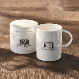 Classic Kitchen Sugar & Milk Set Riviera Maison 457050