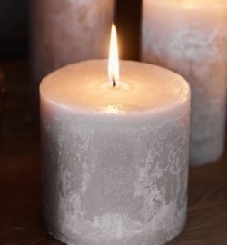 Rustic Candle desert sand 10x10 Riviera Maison 315960