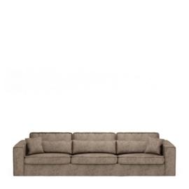 Metropolis Sofa XL, velvet, clay Riviera Maison 4032005