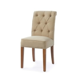 Hampton Classic Dining Chair, washed cotton sand Riviera Maison 3759001