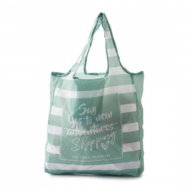 Say Yes To Shopping Foldable Bag Riviera Maison 375760