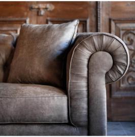 Crescent Avenue Sofa 3 seater, pellini, coffee Riviera Maison 3867002