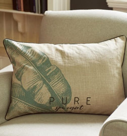 Pure Fern Pillow Cover 65 x 45 Riviera Maison 366670