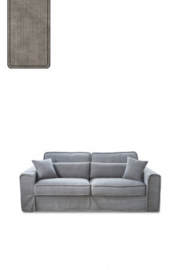 Metropolis Sofa 2,5 seater, washed cotton, stone Riviera Maison 3658003