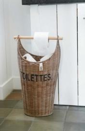 Rustic Rattan Toilettes Basket Riviera Maison 288950