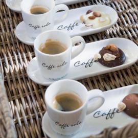 2x Caffè Solo Riviera Maison 129230