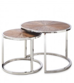 Greenwich Coffee Table set van 2 Riviera Maison 349570