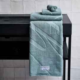 Spa Specials Bath Towel green 140x70 Riviera Maison 451770.