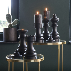 Chess Play Tower Candle Holder Riviera Maison 481050