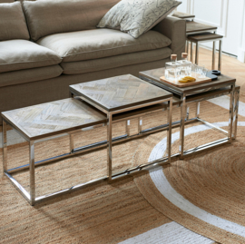 Bushwick Coffee Table Set 3 Riviera Maison 445620