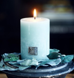 Rustic Candle ocean green 7x10 Riviera Maison 399660