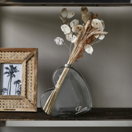 With Love Glass Vase Riviera Maison 433170
