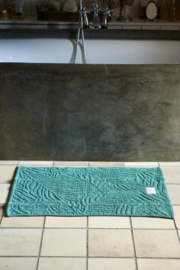Palm Leaves Bath Mat green 80x50 Riviera Maison 413750