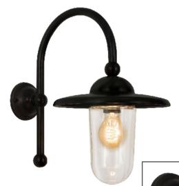 Piavono Buiten/wandlamp in donkerbruin zwarte finish Frezoli