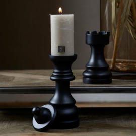 Chess Play Queen Candle Holder Riviera Maison 481060