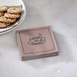 Paper Napkin Elegant Tea Cup Riviera Maison 494620