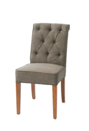 Hampton Classic Dining Chair, washed cotton, graphite riviera maison  3759003