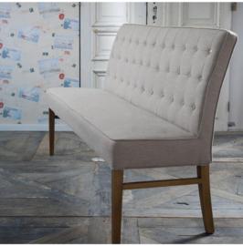 Cape Breton Bench 168 cm, linen, flax Riviera Maison 3441004