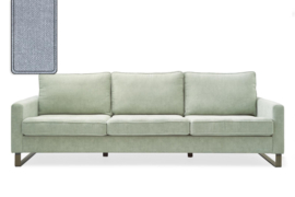 West Houston Sofa 3,5 seater, washed cotton, ice blue Riviera Maison 3904009