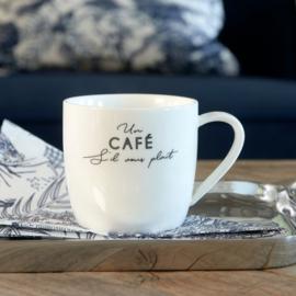6x S'il Vous Plaît Café Mug Riviera Maison 458190
