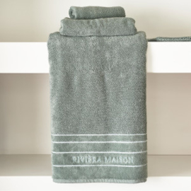 RM Elegant moss Towel 140x70 Riviera Maison 467020
