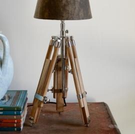 Classic Tripod Lamp teak S Riviera Maison 298860