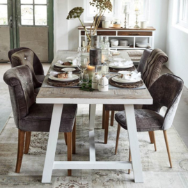Hampton Classic Dining Chair, pellini, camel riviera maison 3866002