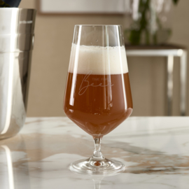 Time For Beer Glass Riviera Maison 492440