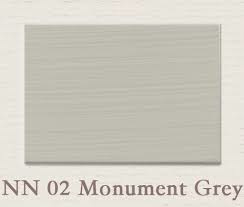 Painting the Past - NN02 Monument Grey Houtverf eggshell 750 ml