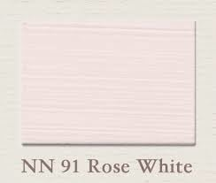 Painting the Past -NN91 Rose White Houtverf Eggshell 750 ml