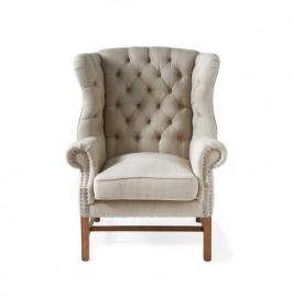 Franklin Park Wingchair, linen, flax Riviera Maison 3632001
