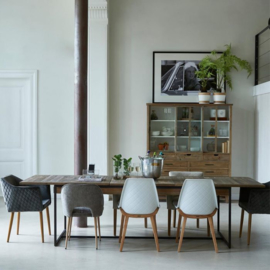 Shelter Island Dining Table Extendable 220/300x90 cm Riviera Maison 376790