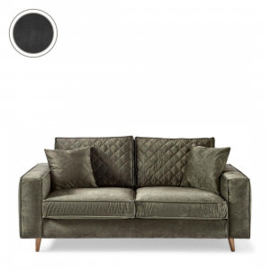 Kendall Sofa 2,5 Seater, velvet, grimaldi grey Riviera Maison 4218009