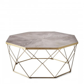 Diplomat Coffee Table 90x90 cm Riviera Maison 424310