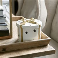 Christmas Decoration Box Round Riviera Maison 462910