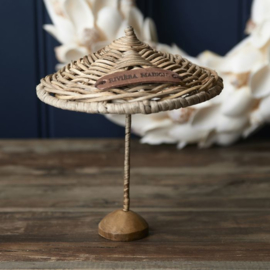 .Rustic Rattan Umbrella Decoration Riviera Maison 472480