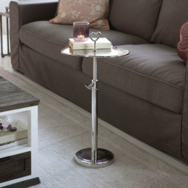 Lovely Heart Adjustable End Table Riviera Maison 462490