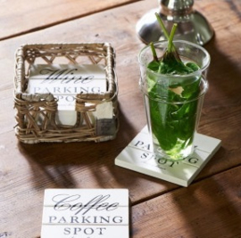 Parking Spot Coasters Riviera Maison 227480