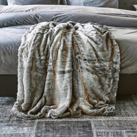 Magic Mink Faux Fur Bedspr. 240x220 Riviera Maison 426720