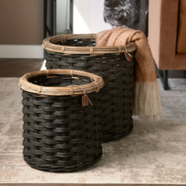 Rustic Rattan Classic RM 48 Basket Set of 2 pieces 466380