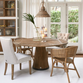Harisson Drop Leaf Dining Table Dia 160 Riviera Maison 473040